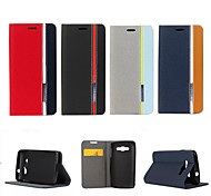 Retro Fashion Deluxe Leather flip Wallet Stand Case For LG LG L60-X145