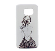 Back Girl PC Phone Back Cover Case for Galaxy S7