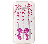 Couple Swing Pattern TPU Soft Case Phone Case For Samsung Galaxy J5/J1/G530