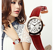 SKMEI® Lady's Leather Band Japanese Quartz 30M Water Resistant Fashion Watch Cool Watches Unique Watches