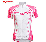 TASDAN® Cycling Jersey Women's Short Sleeve Bike Breathable / Quick Dry / Ultraviolet Resistant / Sweat-wickingJersey +