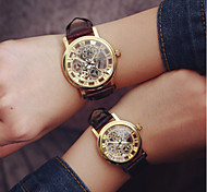 2016 Fashion Simple Unisex Couple's Watches Student Men Or Women Skeleton Watch (Assorted Color) Cool Watches Unique Watches