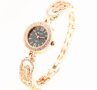 Hot Sale Fashion Casual Bracelet Diamond Alloy Wrist Watches Women Dress Watches Luxury Gift Women Quartz Watch Cool Watches Unique Watches