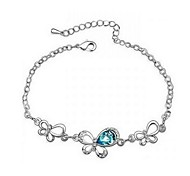 Hot New Charming Lovely Simple Bling Elegant Butterfly Bracelet Bangle Party Jewelry For Women