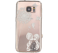 Child Pattern Relief TPU Phone Case for Samsung Galaxy S7/S7 edge