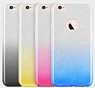 Great Gradient Multicolor Couple Models TPU Phone Case for iPhone 6 Plus/6S Plus(Assorted Color)