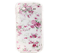 FLOWER Pattern TPU Soft Case for Galaxy Grand Neo/Galaxy Grand Prime/Galaxy J1/Galaxy J5