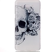 Flower Skull Pattern PC Phone Case For Samsung Galaxy J1/Galaxy J5 /Galaxy J7 /Galaxy J1/J1(2016)/J5(2016)/J7(2016)