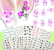 50PCS/Set   Nail Stickers Random Color