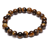 Fashion Nature Tiger Eye Hand String Retro Bracelet