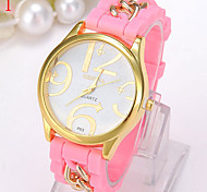 Ladies' Watch The Silicone Watch Chain Small Pure And Fresh And Watch