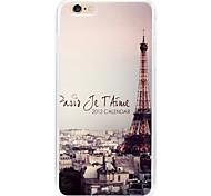 Amor em Paris de volta caso para iphone6 | 6s