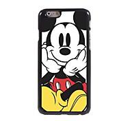 Cartoon Mouse Aluminum Hard Case for iPhone 6/6S