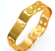 Special Design Flower Shape New 18K Gold Plated Fashion Jewelry Bangle For Women BR70076