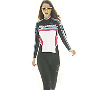 MYSENLAN® Cycling Jersey Women's Long Sleeve Bike Breathable / Lightweight Materials Jersey / Tops Polyester / TeryleneClassic / Fashion