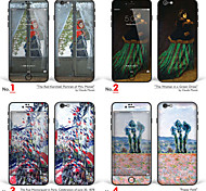 "iPhone 6 Plus/6S Plus Body Art Skin Sticker: ""Works by Claude Monet (Part 2 of 3)"" (Masterpieces Series)"