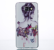 Raddei Pattern TPU Material Phone Case for Samsung Galaxy A3/A310/A510/A710/A9