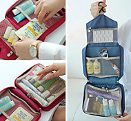 Travel Inflated Mat / Toiletry Bag Foldable Travel Storage Fabric
