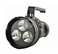 Походные светильники и лампы LED 10800 Люмен 4.0 Режим Cree XM-L2 T6 Водонепроницаемый для Многофункциональный