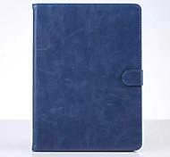 2016 venda quente origami couro de vaca cor sólida Stand Case para iPad mini-4