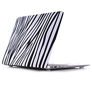 "Vertical Bar Style PC Materials Water Stick Flat Shell For MacBook Pro 13 ""/Pro 15 """
