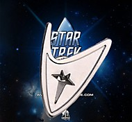 2016 NEW Movie Jewelry Zinc Alloy Star Trek Brooches Lapel Pins Exquisite Collar Suits Admiral Command Fans Gift