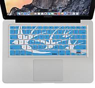 """XSKN portátil de silicio cubierta de silicona teclado de la piel de 13 """"15"""" macbook 17 """", MacBook Pro, MacBook Air, nosotros diseño"""