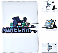 My World Model Special Design Novelty Anime PU Leather Folio Case for iPad Air 2