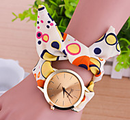 Women's European Style Fashion Colorful Little Circle Fabric Bracelet Watch Cool Watches Unique Watches