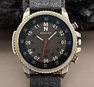 Hot Sale Casual Military Pilot Aviator Army Style Arabic Numbers large Dial Fabric Band Analog Quartz Men Sport Watch Cool Watch Unique Watch