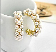 May  Polly Diamond pearl earrings