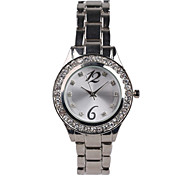 Fashion Silver Alloy Suit Ladies Watch