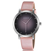 semplici orologi al quarzo moda quadrante calibrato