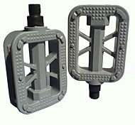 MTB Bike Bicycle Cycling Plastic Platform Flat Pedals Reflective Pedal