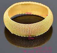 High Quality Vintage Bracelets Fashion Jewelry Gifts 18k Gold Plated Classic Woman\Men Bangles BR70006