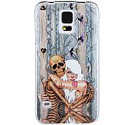 el esqueleto y una niña IMD + TPU caso para Samsung Galaxy s5
