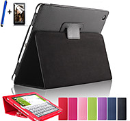 Magnetic Auto Wake Up Sleep Flip Litchi Leather Case For ipad Air Cover Tablet With Free Screen Protector+ Pen