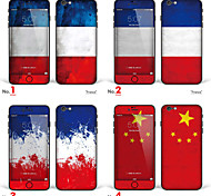 "iPhone 6/6S Body Art Skin Sticker: ""France, China"" (Flags Series)"