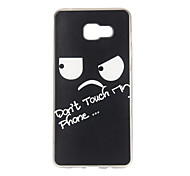 Black Eyes Pattern TPU Soft Case Phone Case for Samsung Galaxy A3/A5/A7/A3 10/A510/A710