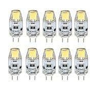 2W G4 Luci LED Bi-pin T 1 COB 170 lm Bianco caldo / Luce fredda Intensità regolabile DC 12 V 10 pezzi