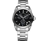 Men's Watch Leisure Hollow 50 Meters Waterproof Strip Automatic Calendar Watch Cool Watch Unique Watch