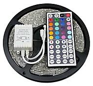 z®zdm 5m 300x5050 SMD RGB LED strip licht IP20 met 44Key afstandsbediening (12V)
