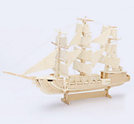 3D Puzzles  Three-Dimensional Puzzle Children'S Educational Toys Atlantic Sailing Ship Simulation Model