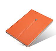 superiore di stile di affari di qualità cuoio dell'unità di elaborazione con il caso astuto basamento per ipad mini 1/2/3 (corlors