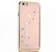 The Running of The Reindeer with Color PC Shell Plating Drill for iPhone6/iPhone 6s(Assorted Colors)