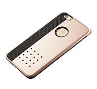caso a prueba de golpes doble protección capas 2 en 1 TPU para el iphone 6 / 6s
