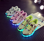 Boys' Shoes Outdoor / Athletic / Casual Leatherette Fashion Sneakers Yellow / Pink / Gray