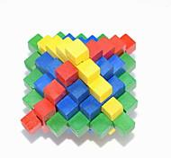 Fashion Wood Puzzle Unlock Loop Decompression Toys