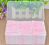 160Pcs Cotton Thick Section Boxed Up Remover Cotton  Disposable Cotton Hand Pluggable