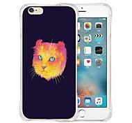parte traseira do silicone olho mágico estojo transparente para iPhone 6 Plus / 6s mais (cores sortidas)